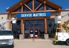 Denver Mattress Sign Installation