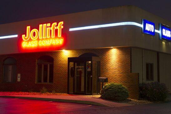Jolliff Neon Lettering